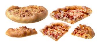 Pizza casalinga Fotografia Stock Libera da Diritti