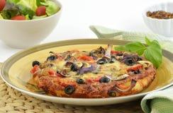 Pizza caseiro Fotos de Stock Royalty Free