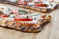 Pizza caseiro do margarita Foto de Stock Royalty Free