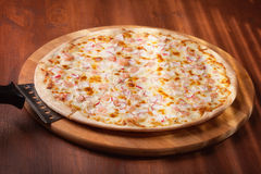 Pizza chaude photo libre de droits