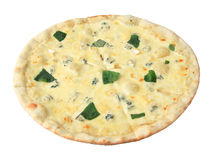 Pizza with cheese Royalty Free Stock Photography