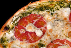 Pizza with cheese Dorblu Stock Image