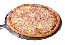 Pizza cheese Stock Images