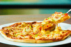 Pizza Cheese Spicy Royalty Free Stock Photo