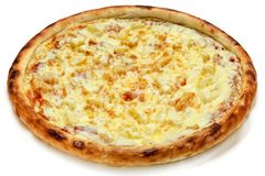 Pizza with cheese Royalty Free Stock Image