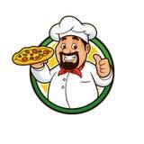 Pizza Chef Mascot Design Vector Royalty Free Stock Image