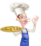 Pizza Chef Perfect Sign Stock Images