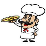 Pizza Chef Royalty Free Stock Photo