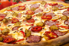 Pizza Chicago Imagem de Stock