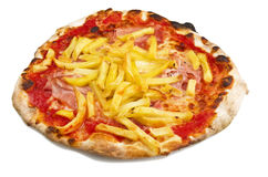Pizza chips Stock Images