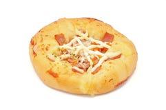 Pizza chleb Zdjęcia Royalty Free