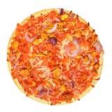 Pizza clássica isolada Foto de Stock