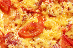 Pizza close-up Stock Photography