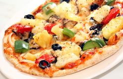 Pizza close up Stock Photography