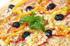 Pizza close-up Royalty Free Stock Photography