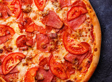 Pizza close up Royalty Free Stock Images