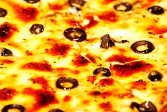 Pizza closeup Royalty Free Stock Images