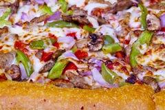 Pizza closeup. Royalty Free Stock Photography