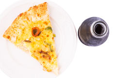 Pizza and Cola Drink I Stock Photography