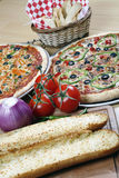 Pizza Combo Deal For Family Royalty Free Stock Image