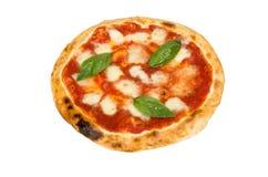 Pizza con formaggio Fotografie Stock
