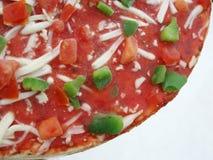 Pizza congelada foto de archivo libre de regalías