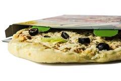 Pizza congelada Fotos de archivo