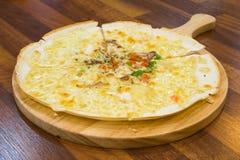 Pizza coreana fotografia de stock