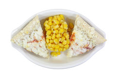 Pizza Corn Frozen Royalty Free Stock Image