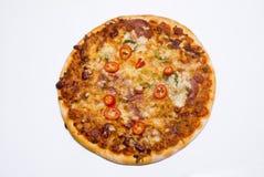 Pizza cotta pietra Fotografia Stock Libera da Diritti