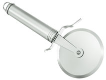 Pizza cutter Stock Images