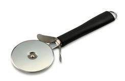 Pizza cutter or pizza wheel Royalty Free Stock Images