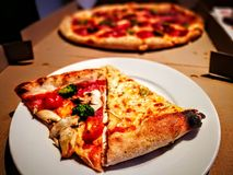 Pizza czas Fotografia Royalty Free