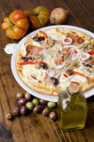 Pizza d'artisan Photo stock