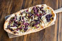 Pizza d'Ortolana Photographie stock