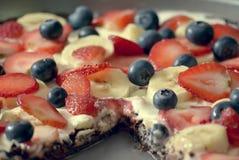 Pizza da brownie, imagens de stock royalty free