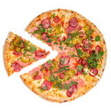 Pizza da parte superior Foto de Stock