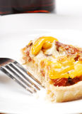 Pizza dalla parte superiore Fotografia Stock