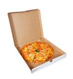 Pizza dans le cadre images libres de droits