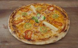Pizza de Brocoli Foto de archivo