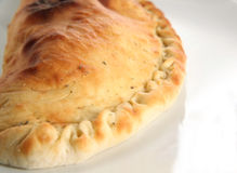 Pizza de Calzone Images libres de droits