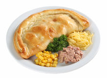 Pizza de Calzone Imagem de Stock Royalty Free
