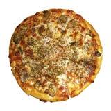 Pizza de Capricciosa Imagenes de archivo