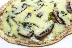 Pizza de champignon Photos stock