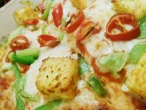 Pizza de Cheeze Photo stock