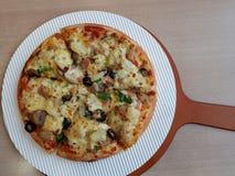 Pizza de Eslovênia Imagens de Stock Royalty Free