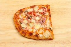 Pizza de Flatbread Photographie stock libre de droits