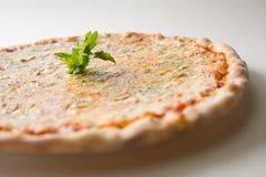 Pizza de fromage Photographie stock libre de droits
