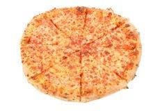 Pizza de fromage Photographie stock