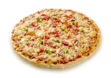 pizza de fromage de lard images libres de droits